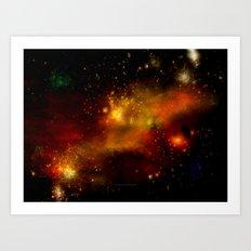 INNER SPACE - 049 Art Print