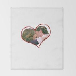 Meredith and Derek Throw Blanket