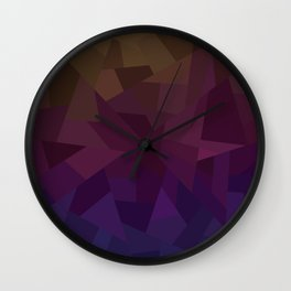 Patchwork - Flipped Wall Clock