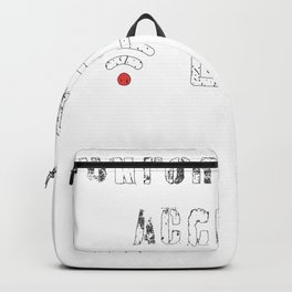 Unfortunate  Accident, Funny, Clumsy People, 2021 Backpack