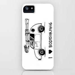I HEART BODYSURFING iPhone Case