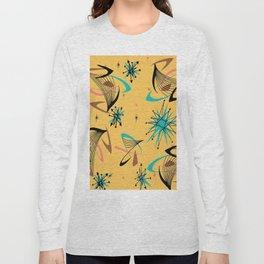 Mid Century Modern Retro Long Sleeve T-shirt