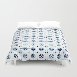 Azulejo I - Portuguese hand painted tiles Duvet Cover