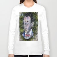 pee wee Long Sleeve T-shirts featuring pee wee by Roosterface