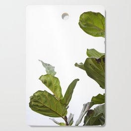 Fiddle Leaf Fig     The Houseplant Collection Cutting Board