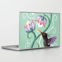 hummingbird Laptop & iPad Skins featuring Hummingbird by Freeminds