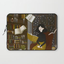 floating books Laptop Sleeve