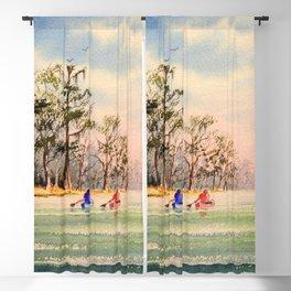Suwannee River Florida Canoeing Blackout Curtain