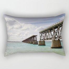 Broken Bridges Rectangular Pillow