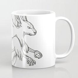 Skvader Flying Doodle Coffee Mug