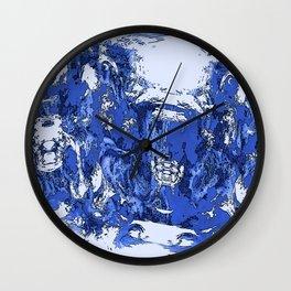 Stormy Blue Lagoon Wall Clock