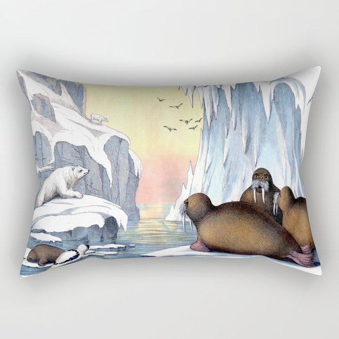 Polar Convention Rectangular Pillow