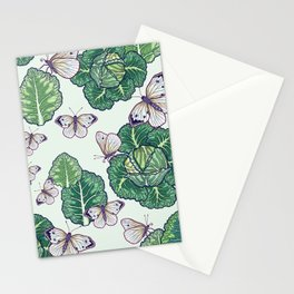 butterflies in the garden Stationery Cards