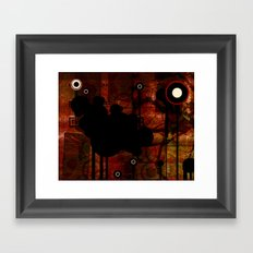 hole Framed Art Print
