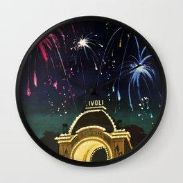 Tivoli Gardens Wall Clock