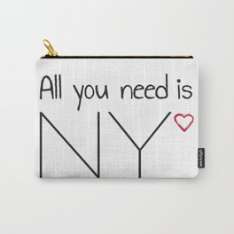 All you need is NY Carry-All Pouch