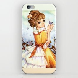 Summer-girl iPhone Skin