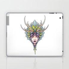 crowned girl Laptop & iPad Skin