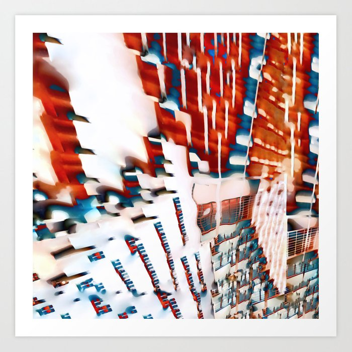 Blind Patterns Art Print