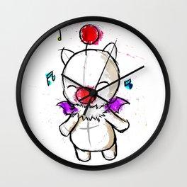 Watercolour Moogle  Wall Clock