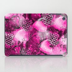 Light Bulb Hearts Series (pink) iPad Case