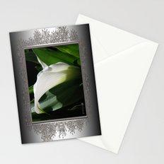 Zantedeschia named Crystal Blush Stationery Cards