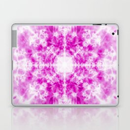 Light pink kaleidoscope pattern Laptop & iPad Skin