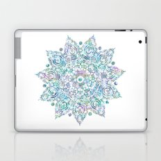 Mermaid Dreams Mandala on White Laptop & iPad Skin