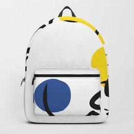 The Juggler of Life Minimal Art Design Backpack