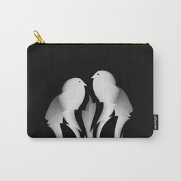 Paper Ribbon Birds Carry-All Pouch