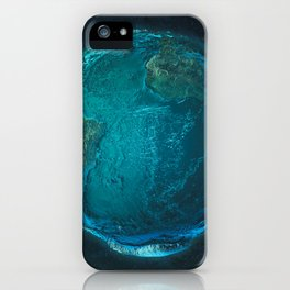 Globe: Relief Atlantic iPhone Case