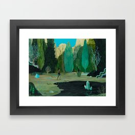 Snake Lake Framed Art Print