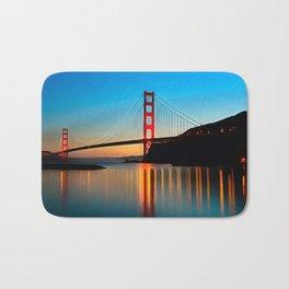 San Fran Bridge Bath Mat