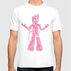 Bubble Gumby MEDIUM Mens Fitted Tee White