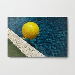 Poolside 1 Metal Print