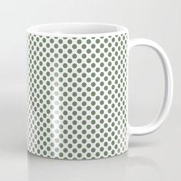 Vineyard Green Polka Dots Coffee Mug