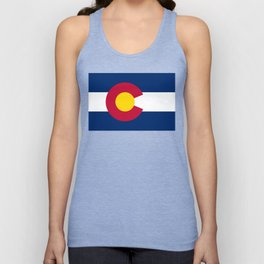 Colorado state flag (High Def file) Unisex Tank Top