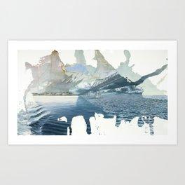 Days On The Bay Art Print
