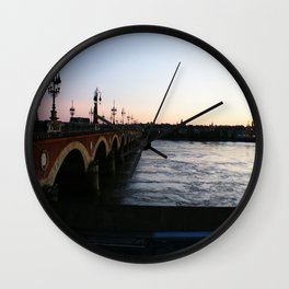 After dark Wall Clock