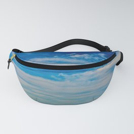 The Blue Summer Sky Fanny Pack