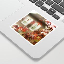Urban Red Maple Sticker