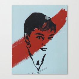 Audrey 5 Canvas Print