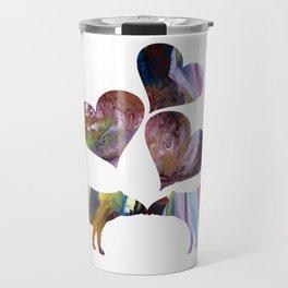Tapir Art Love Travel Mug