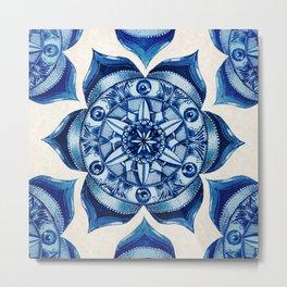 Conscious Visions Mandala Metal Print