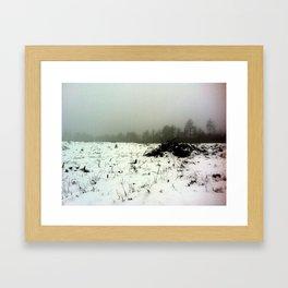 Frigid Framed Art Print