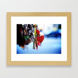 Chinatown Heart Framed Art Print