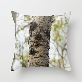 Alberta Bird Throw Pillow