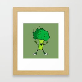 Broccoli rocks! Framed Art Print