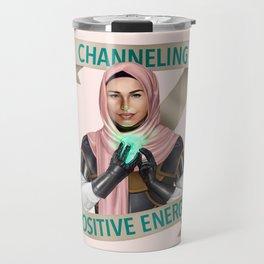 Cleric: Channeling Positive Energy Travel Mug