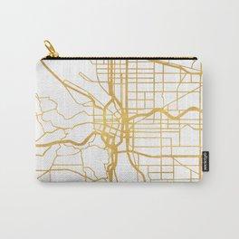 PORTLAND OREGON CITY STREET MAP ART Carry-All Pouch